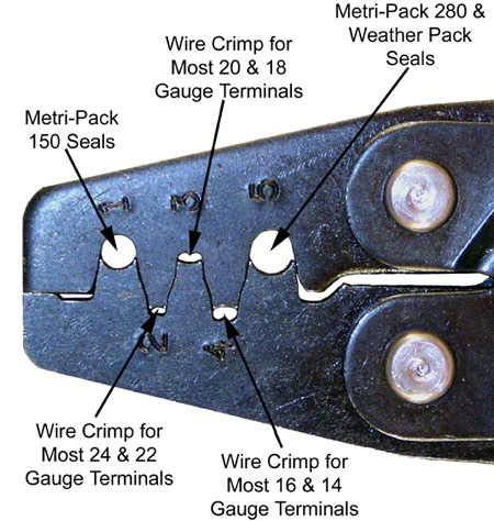 T-18 Weather Pack Crimping Nests